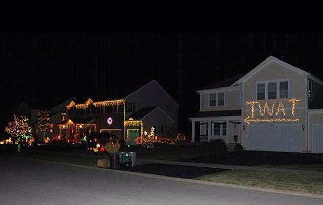 I Don't Think Our Neighbors like Our Christmas Decorations... This Was Their Reaction... -   Misc