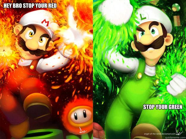 Mario Luigi Memes Quickmeme