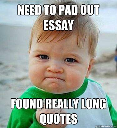Really long essay