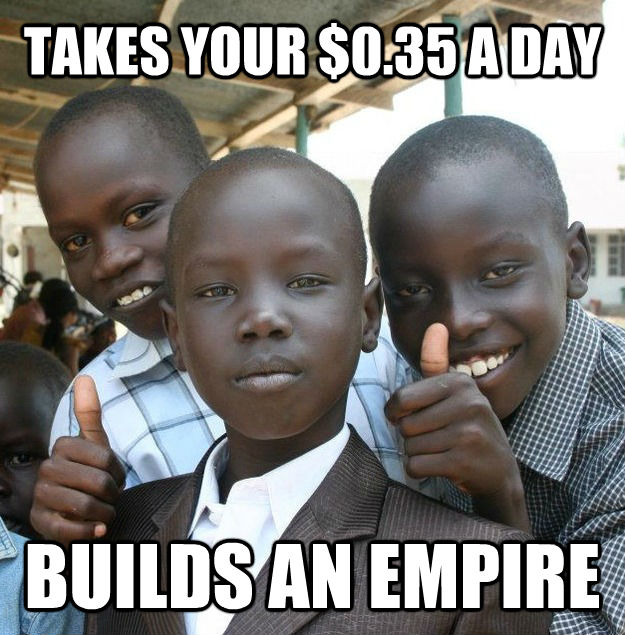 TAKES YOUR $0.35 A DAY BUILDS AN EMPIRE