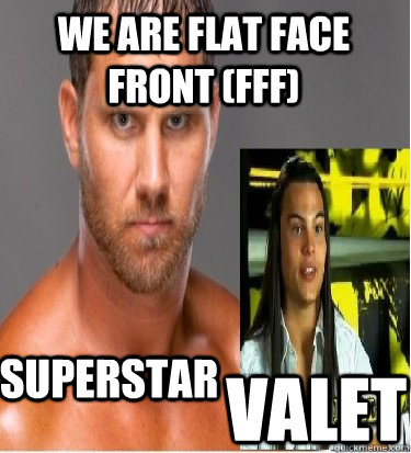 Superstar valet we are flat face front (FFF) - Superstar valet we are flat face front (FFF)  Misc