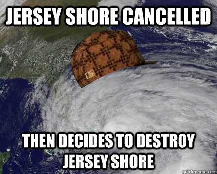 Jersey shore cancelled Then decides to destroy jersey shore