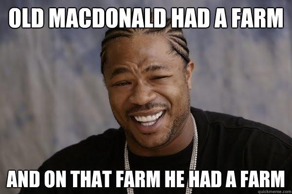 old MacDonald had a farm and on that farm he had a farm