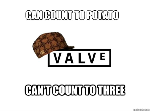 can count to potato can't count to three