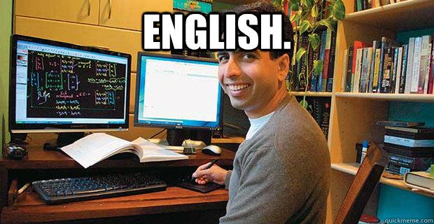 English.