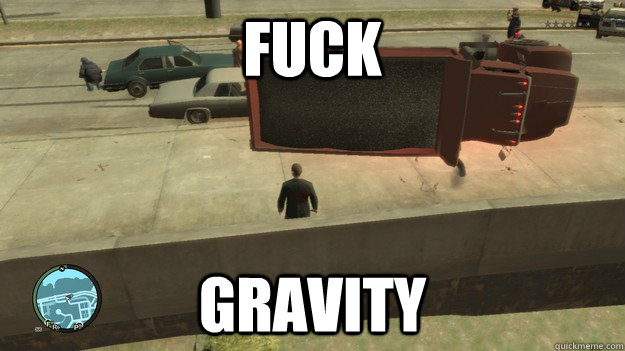 Fuck gravity - Fuck gravity  Misc