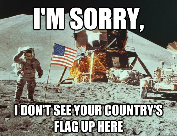 I'm Sorry,  I don't see your country's flag up here