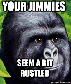 Your Jimmies Seem a bit rustled - Your Jimmies Seem a bit rustled  Crazy Jimmies