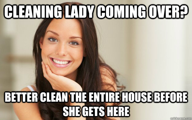 The cleaning lady above and beyond cleaning 8