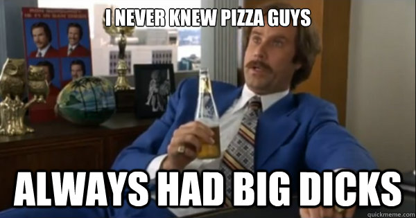 Pizza porn meme opinion you