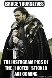 BRACE YOURSELVES THE INSTAGRAM PICS OF THE