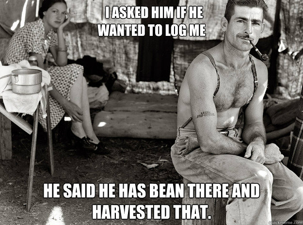 i Asked him if he  wanted to log me He said he has bean there and harvested that.