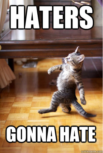 HATERS GONNA HATE - HATERS GONNA HATE  Pimp Strut Cat