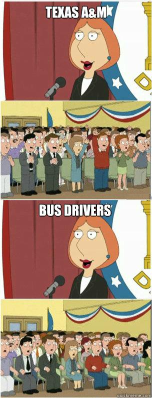 Texas A&M  Bus Drivers