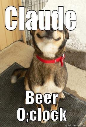5c777a037c71d72e255d464b5f4b3a7ca75b91e073e971fca9707b4d90b42a48 claudeb's funny quickmeme meme collection,Beer O Clock Meme