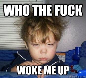 5c7bcaa0a7e7ae57ecc971db9d2ad10f325eb01789cca8f3cf85b3036adc9a09 who the fuck woke me up just woke up quickmeme