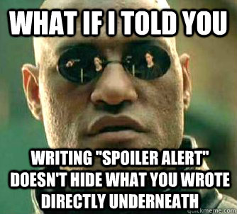 What if I told you Writing