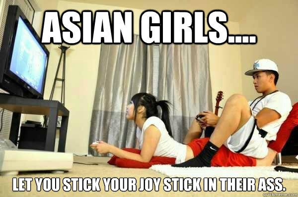 Asian girls ass