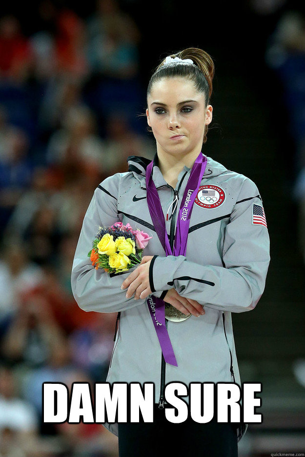 Damn Sure -  Damn Sure  Unimpressed McKayla