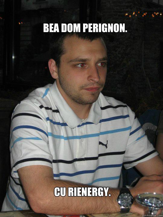 Bea Dom Perignon. cu rienergy.