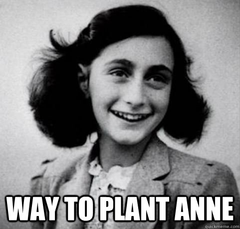 Way to plant Anne