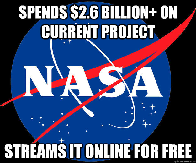spends $2.6 billion+ on current project streams it online for free