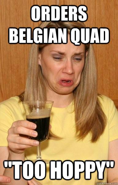 Orders Belgian Quad