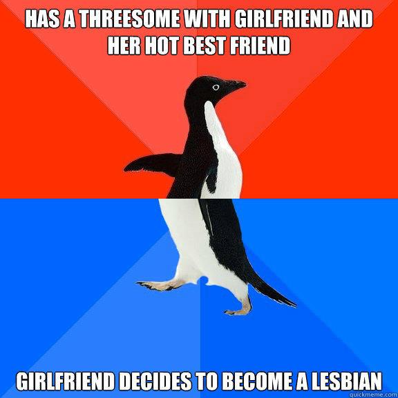 Lesbian poops on girl friend