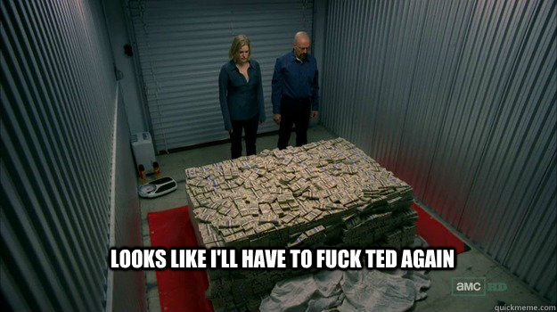 Looks like i'll have to fuck ted again