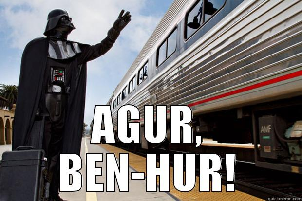 Vacaciones merecidas -  AGUR, BEN-HUR! Misc