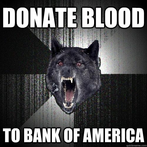 Fuck you bank of america