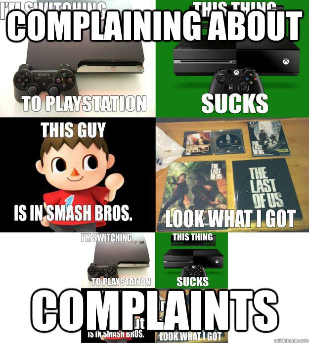 Complaining about Complaints - Complaining about Complaints  Misc