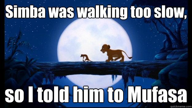 mufasa and simba relationship memes