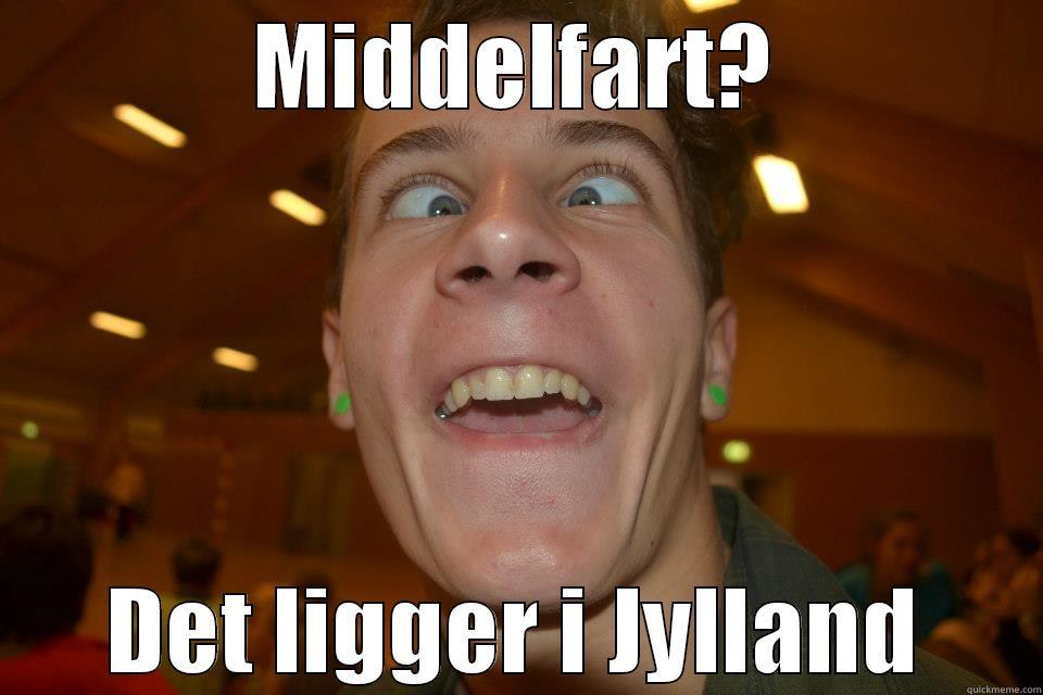 MIDDELFART? DET LIGGER I JYLLAND Misc