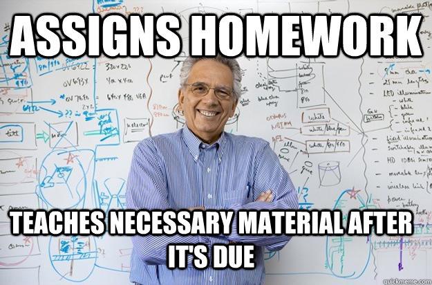 Is homework necessary