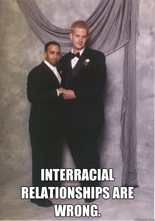 is interracial dating biblically wrong