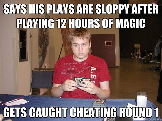 cheating round