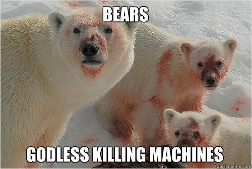 Bears Godless Killing Machines