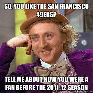Anti 49ers Meme San Francisco 49ers tell