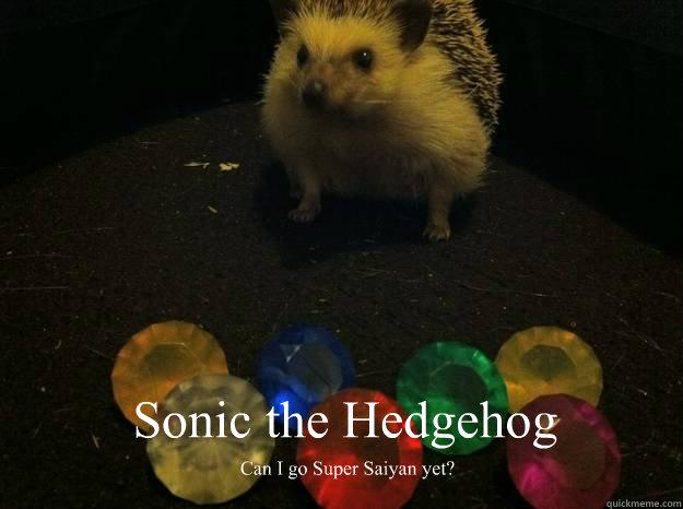 Sonic the Hedgehog Can I go Super Saiyan yet?