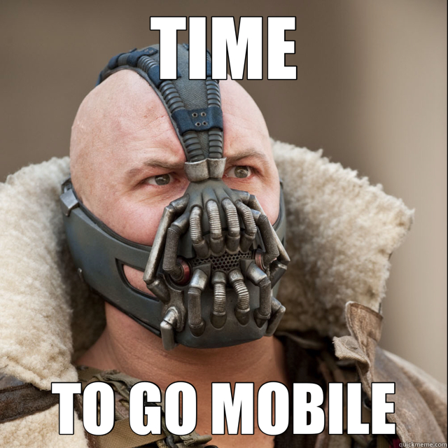 TIME TO GO MOBILE - TIME TO GO MOBILE  Bane