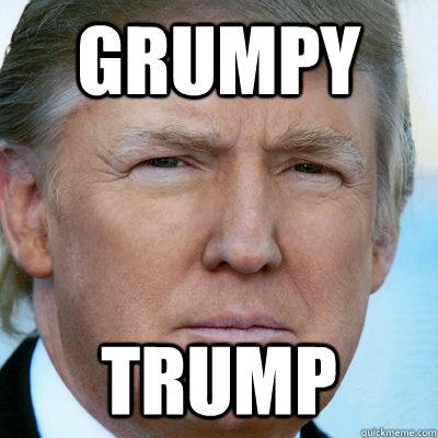 GRUMPY TRUMP - GRUMPY TRUMP  grumpytrump