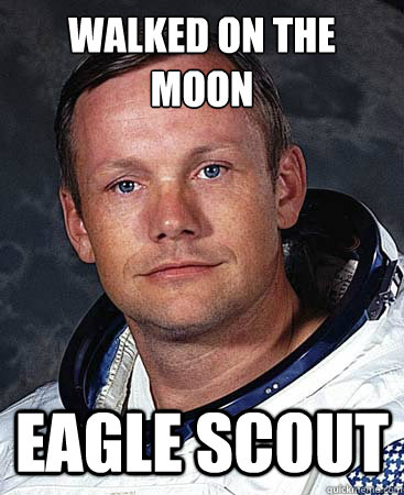 Walked On the Moon Eagle Scout