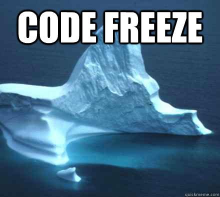 Code Freeze