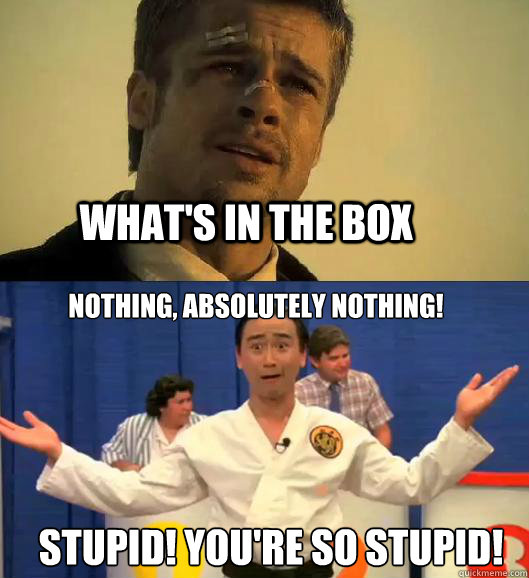 Stupid you re so stupid