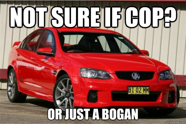 Not sure if Cop? Or just a bogan - Not sure if Cop? Or just a bogan  bogan commodore