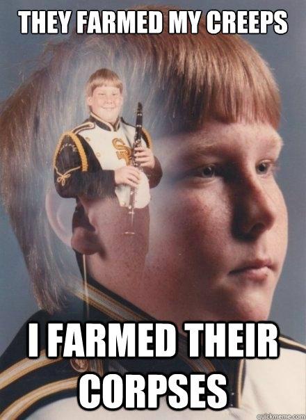 They farmed my creeps I farmed their corpses