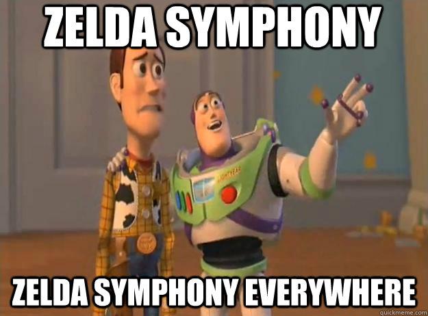 Zelda symphony Zelda symphony everywhere