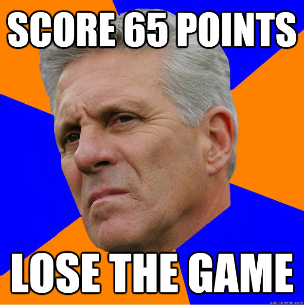 Score 65 Points Lose the Game - Score 65 Points Lose the Game  Uninformed Zook
