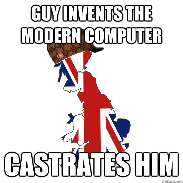 Guy Invents the Modern Computer Castrates Him